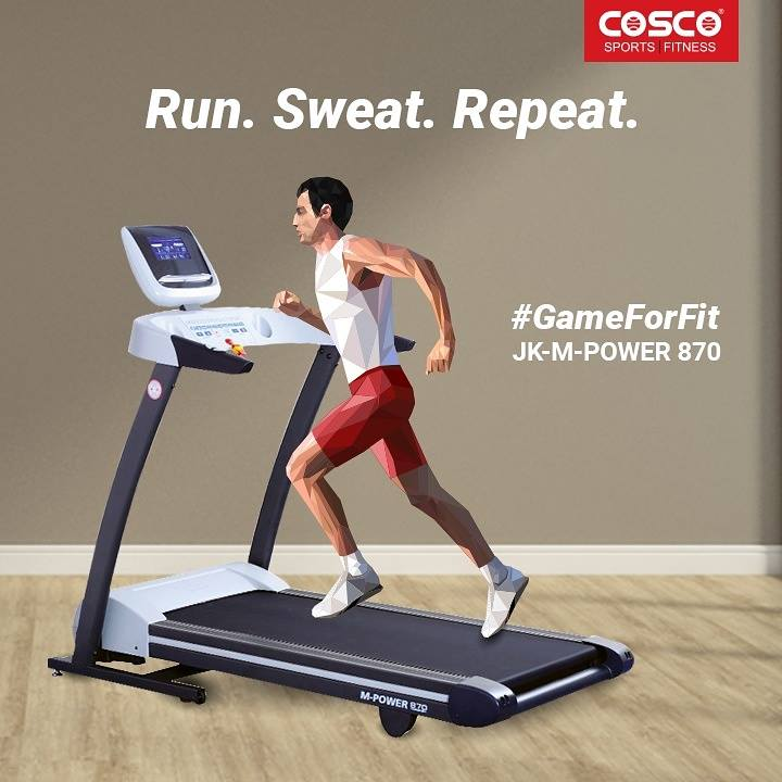 167b3653e815 40% Of People Skip Treadmill Running Considering It To Be Harmful To Health